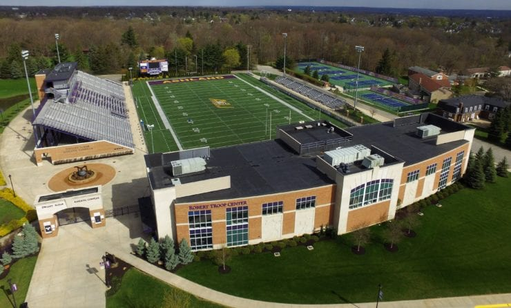Dwight Schar Athletic Complex - Air Control Products Commercial HVAC